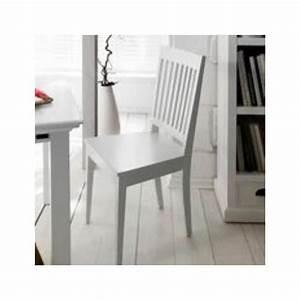 Salle A Manger Bois Blanc : chaise bois blanc salle manger id es de d coration int rieure french decor ~ Melissatoandfro.com Idées de Décoration