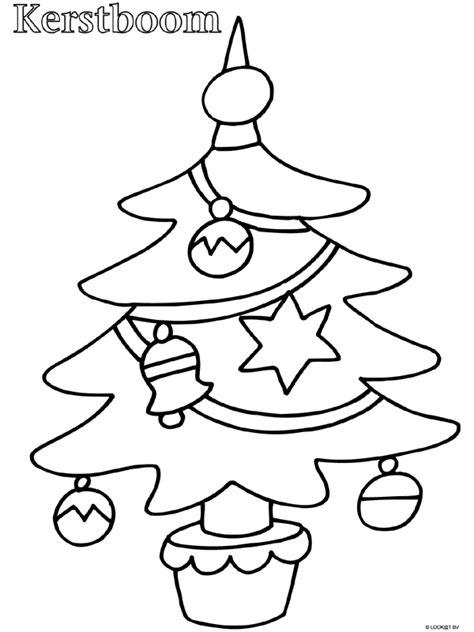 Kerst Kleurplaat Peuters kleurplaat peuter kleurplaat kerstboom kleurplaten nl