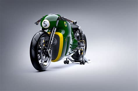 Lotus C-01 Motorcycle By Daniel Simon
