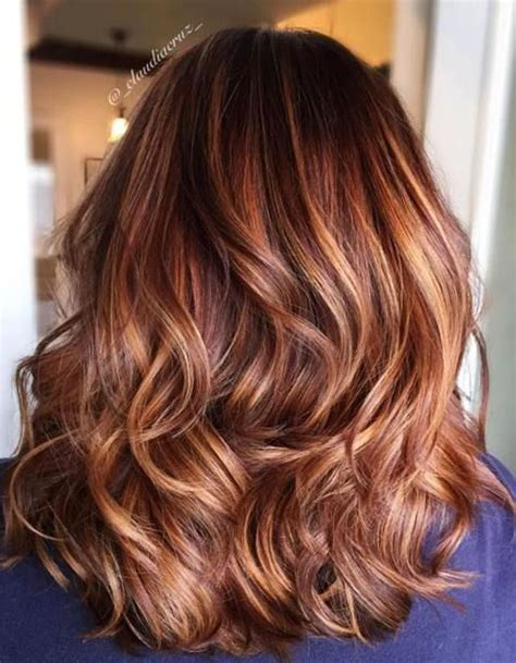 balayage cuivr 233 cheveux chatains balayage cuivr 233 le reflet chaud 224 adopter cette saison