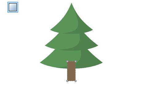draw  christmas tree  inkscape goinkscape