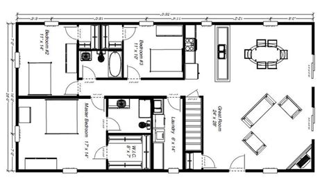 barn house floor plans functional floor plan