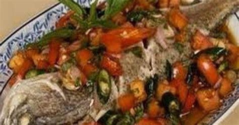 ikan bakar colo dabu dabu resep kita