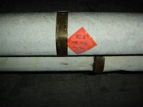 keasbey mattison asbestos air cell label