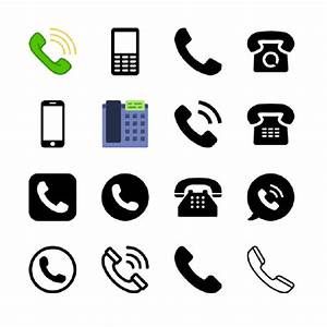 phone logos in vector format (EPS, AI, CDR, SVG) free download