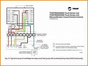 Heat Pump Thermostat Wiring Diagram Schematic