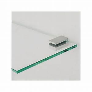 tagre verre stunning etagre suspendue avec leds porte With porte d entrée alu avec support tablette verre salle de bain