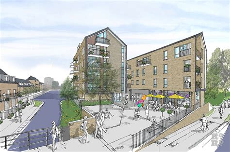 Lfd design quarter, east london, eastern cape. New housing developments in Bow, East London   Roman Road Community