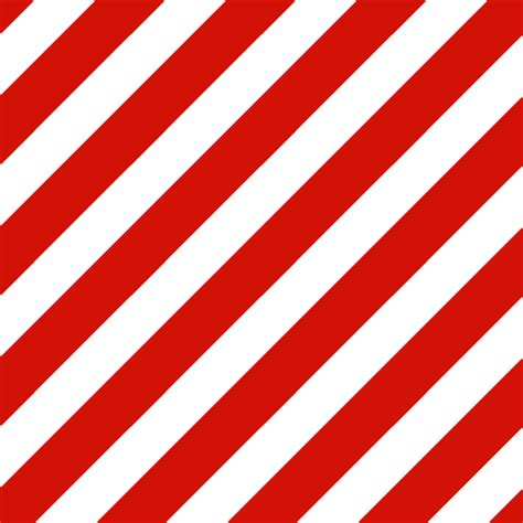 Red And White Candy Stripes Red Diagonal Stripe Xmas