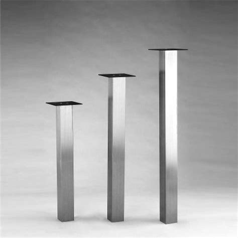 SteelBase Katrina Square Column Table Leg   KitchenSource.com