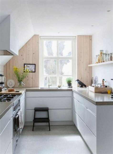 Kleine Küche Einrichten Bilder by Elegantes Kleine K 252 Che Einrichten Bilder Skandinavisches