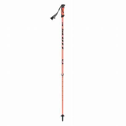 Riot Scott Poles Ski Brins Orange Baton