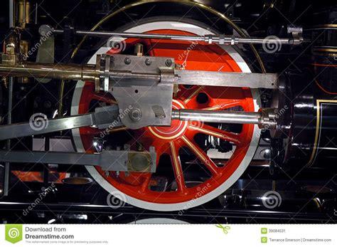 Steam Locomotive With Engine Driver Cartoon Vector
