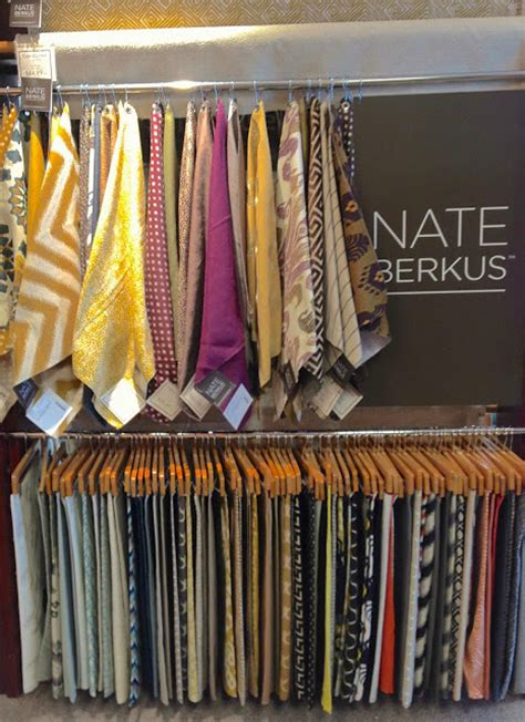 Nate Berkus Herringbone Curtains by Scoping Out Calico Corners New Nate Berkus Collection