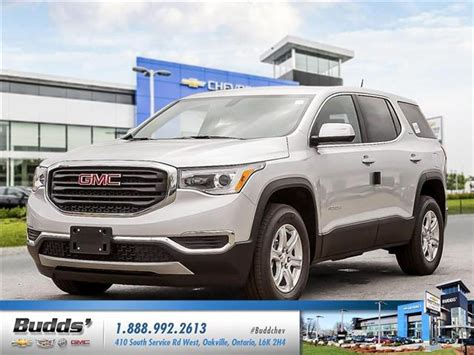 2019 gmc acadia 9 speed transmission 2019 gmc acadia sle 1 at 32502 for sale in oakville