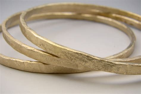 Urban Rustic Gold Forged Bangle 14 Karat Yellow Gold Solid. Real Diamond Rings. Double Ring Necklace. Religious Jewelry. Bangle Size. Gold Anklets Online. Flamingo Bangle Bracelet. Light Weight Chains. Leather Jewelry