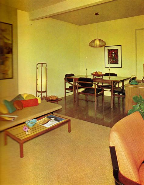 Home '65 A Groovy Look At Midsixties Interior Décor