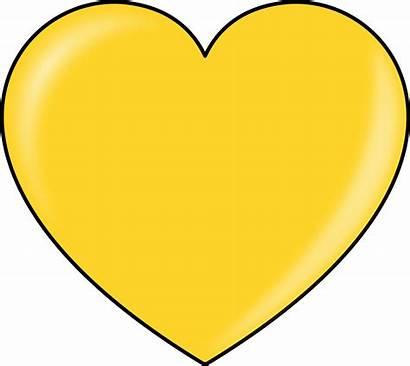 Heart Gold Clipart Svg
