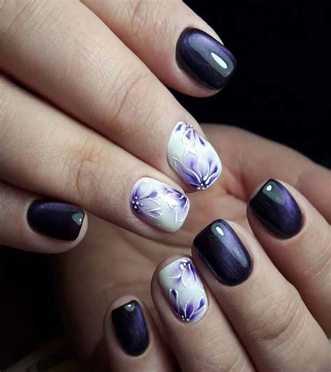 short acrylic nails designs  summer  fashiongaps