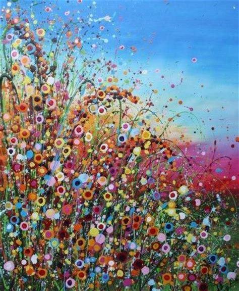 bloemen 3d dikke verf you tube 25 beste idee 235 n over bloemen schilderen op pinterest