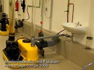 Hebeanlage Abwasser Waschmaschine : auswirkung mangelnder bel ftung bei abwasser hebeanlagen youtube ~ Eleganceandgraceweddings.com Haus und Dekorationen