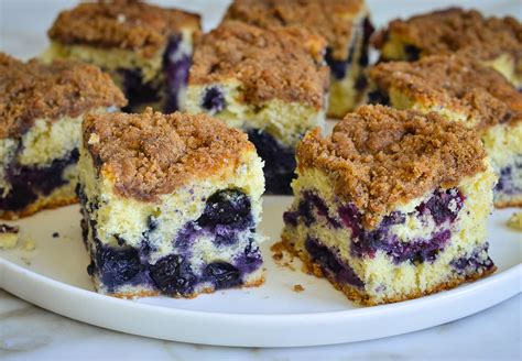 This blueberry coffee cake is blurring the lines between breakfast, brunch and dessert and i'm not mad about it. Blueberry Coffee Cake (aka Boy Bait) - Once Upon a Chef