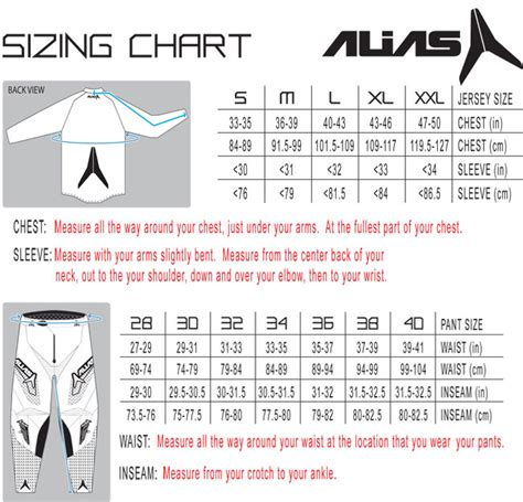 how to size motocross alias 2013 a2 series gear combo bto sports
