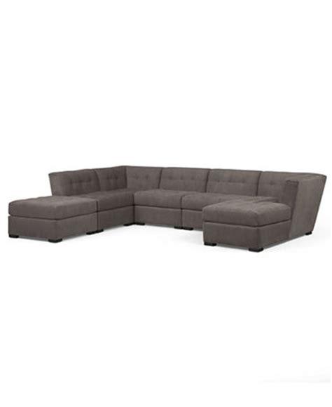 Roxanne Fabric 6piece Modular Sectional Sofa (corner Unit