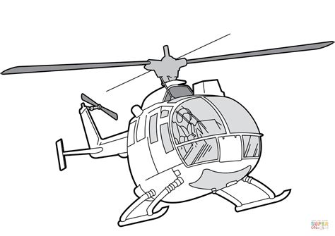 mbb bo  helicopter coloring page  printable