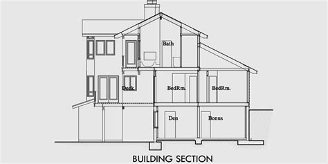 sloping lot house plans view house plans sloping lot house plans multi level