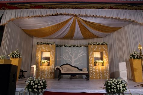kerala wedding stage decoration kerala wedding style