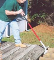 duckbill deck wrecker canada two tools for tearing up a deck canadian home workshop