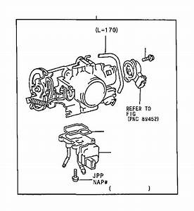 Toyota Camry Fuel Injection Idle Air Control Valve Gasket