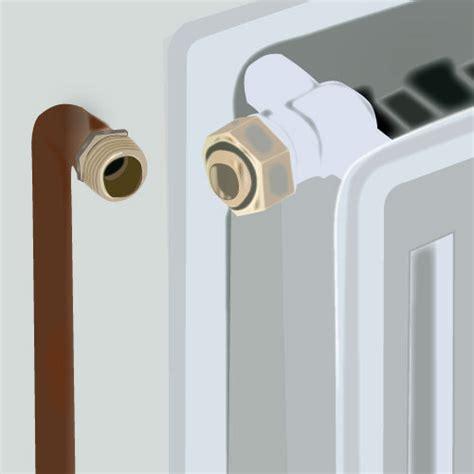 changer un robinet de radiateur plomberie