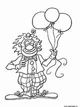 Clown Coloring Pages Printable Print sketch template