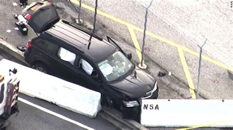 UPDATE: FBI says 3 people in vehicle that tried to enter NSA