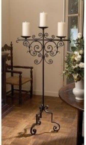 standing candle holder iron floor candle holders foter
