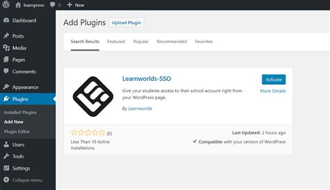 How To Connect Learnworlds Sso Plugin
