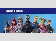 Fortnite Season 4 is here New skins, emotes and more