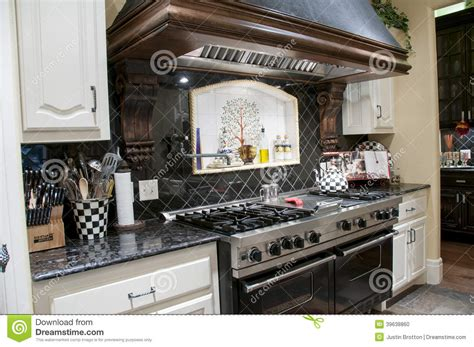 high end kitchen stock photo image 39638860