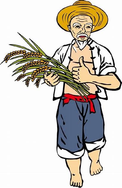 Farmer Clipart Kisan Farmers Farming Peasant Agriculture