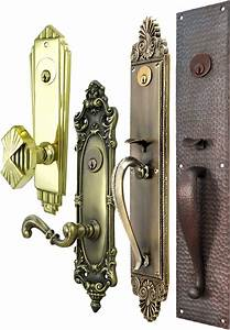 Vintage hardware lighting classic antique door for Vintage exterior door hardware
