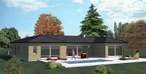 exciting maison plain pied construction ideas best image With marvelous modele de maison en l 6 maison neuve