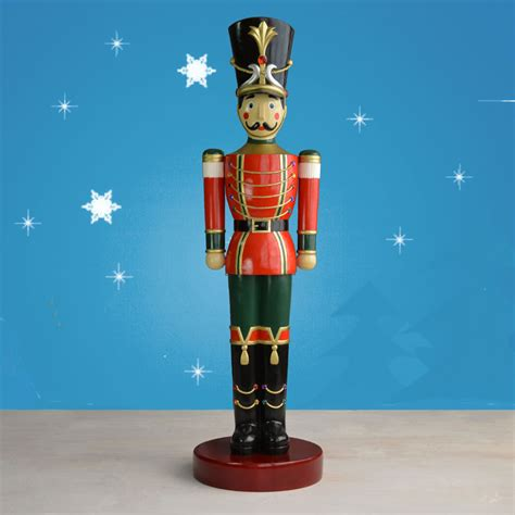 christmas night inc life sized toy soldier 6 5ft
