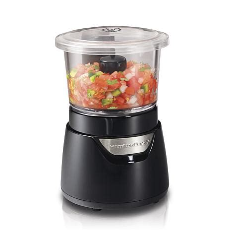 cup cuisine stack and press 3 cup food chopper 7117314 hsn