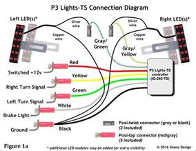 similiar black light color code keywords tail lights wiring diagram christmas light 3 3 wire led tail light