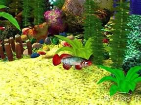free free 3d aquarium screensaver free 3d