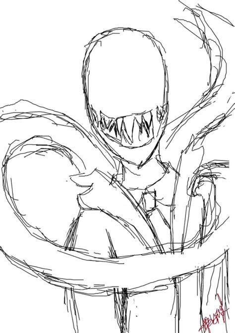 slender man coloring pages coloring home