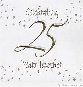 happy 25rd marriage anniversary quotes wishes on pics With happy 25th wedding anniversary