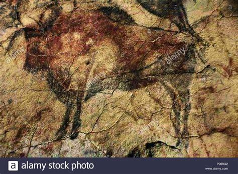 cave paintings spain stockfotos cave paintings spain